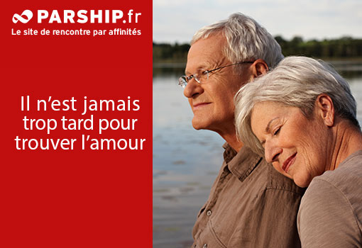 Sites rencontres seniors france